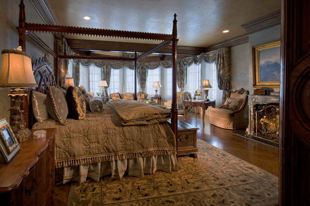 Gothic Castle In The Blue Ridge Mountains Traditional Bedroom