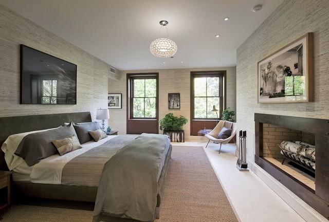 Gramercy Townhouse Modern Bedroom New York By