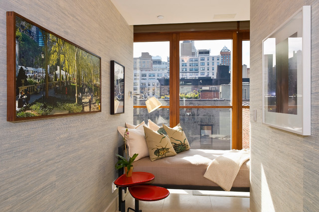 Gramercy Townhouse modern-bedroom