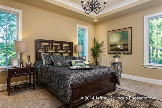 Grand Master Bedroom With Tray Ceiling Traditional Bedroom Philadelphia By Turnberry