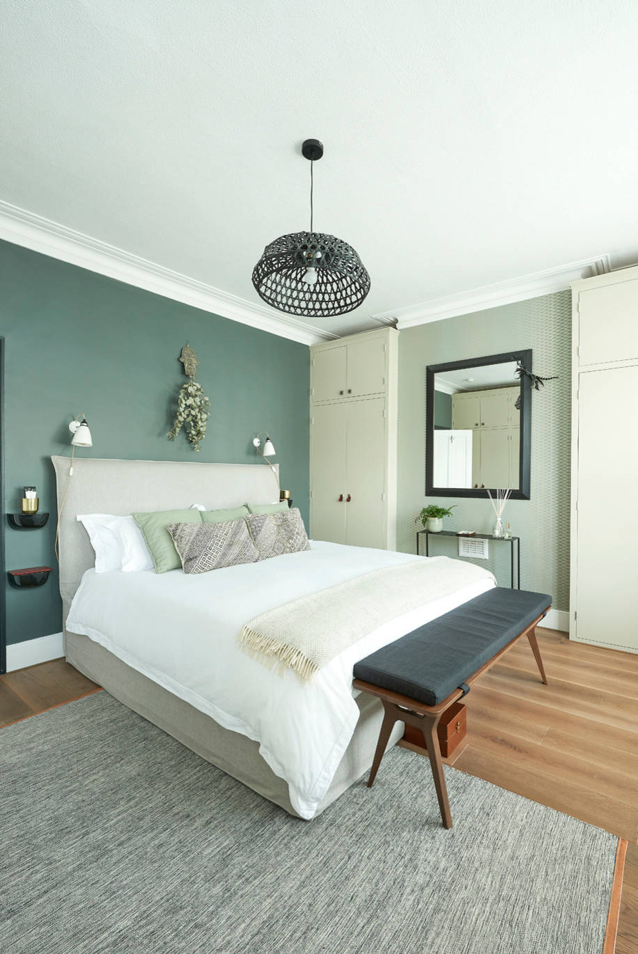 9 Beautiful Green Bedroom Pictures & Ideas - January, 9  Houzz