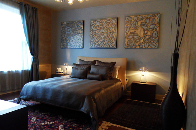 Grandview At Port Imperial Contemporary Bedroom New