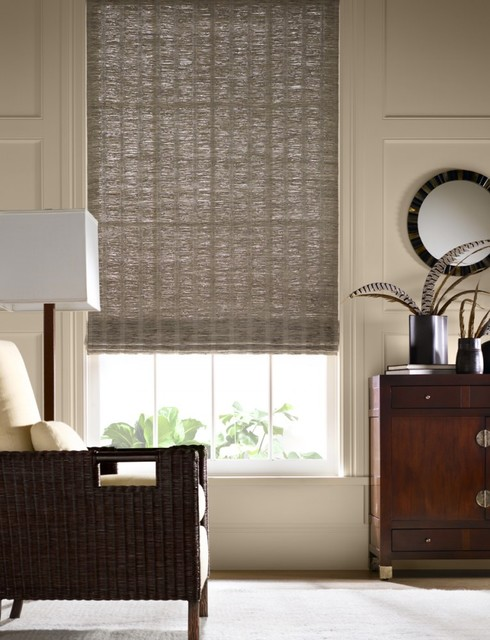 Grass shade bedroom charleston by all about windows inc for Shades for bedroom windows