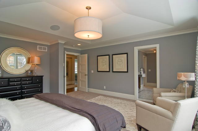great neighborhood homes transitional bedroom. Black Bedroom Furniture Sets. Home Design Ideas