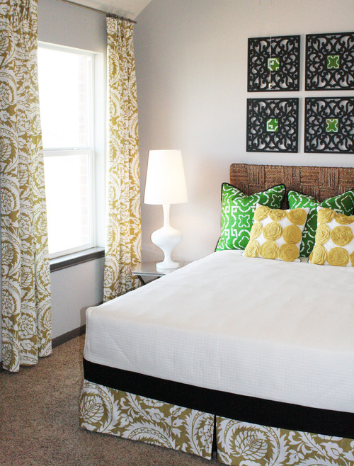 Green & Yellow Guest Room