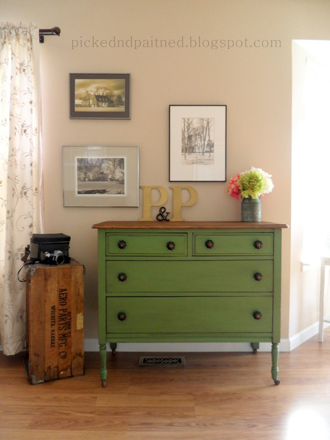 green farmhouse dresser traditional bedroom st louis by picked