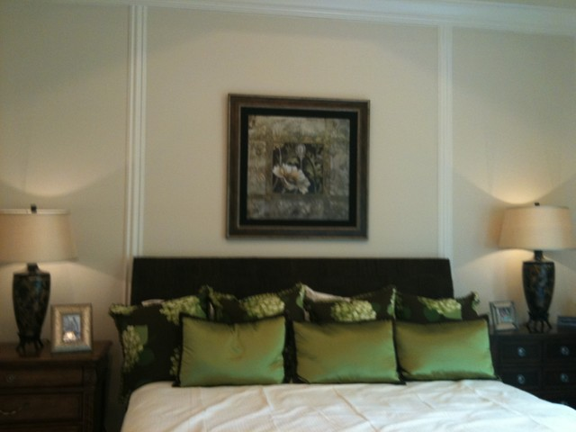 Green Master Bedroom