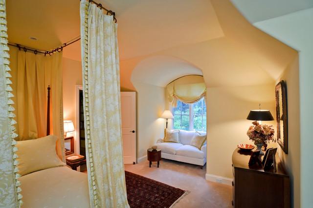 Green Oaks Atherton mediterranean-bedroom
