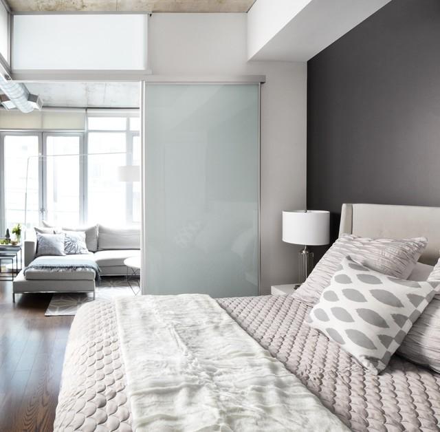 Greenberg suite condo design interior design toronto for Condo bedroom design