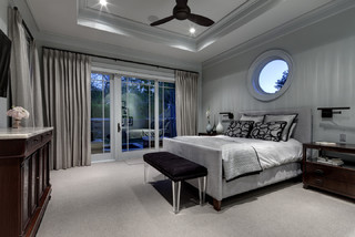 Greenbrier Residence - Contemporary - Bedroom - Dallas - by Domiteaux Architects