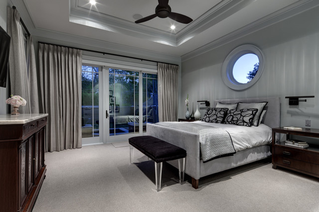Greenbrier Residence contemporary bedroom