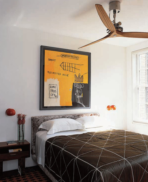 Greenwich Village Townhouse Guest Bedroom
