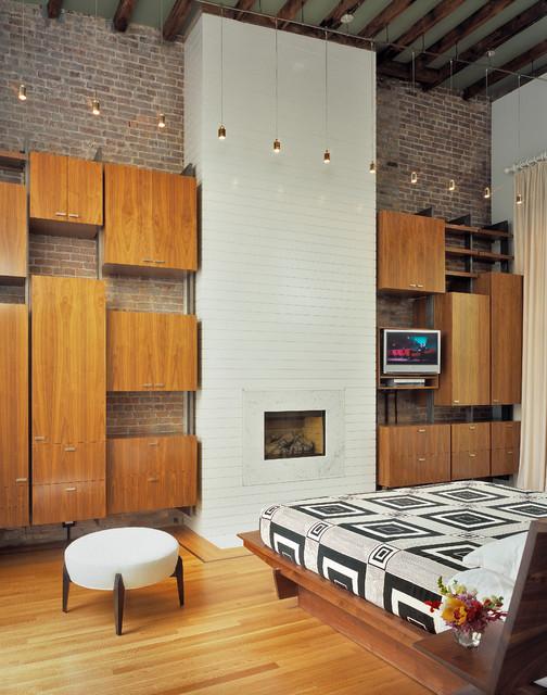 Greenwich Village Townhouse - Modern - Bedroom - New York - by Melander Architects, Inc.
