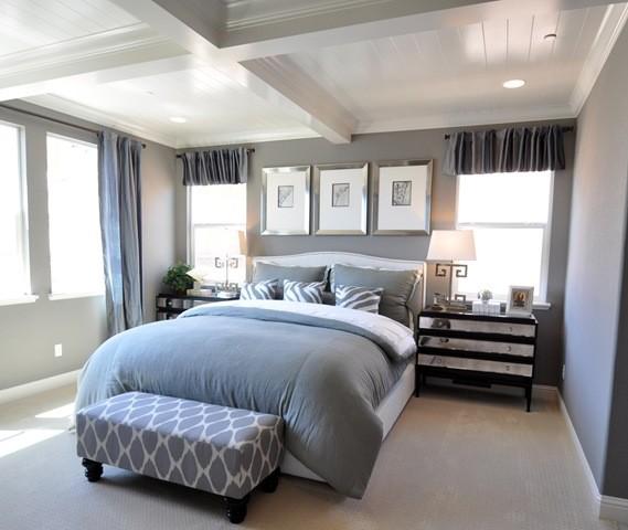 Grey Bedroom