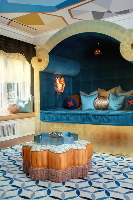Greystone eclectic-bedroom