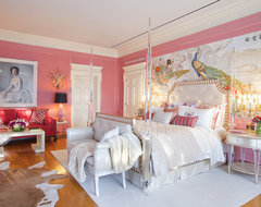 Greystone Mansion eclectic bedroom