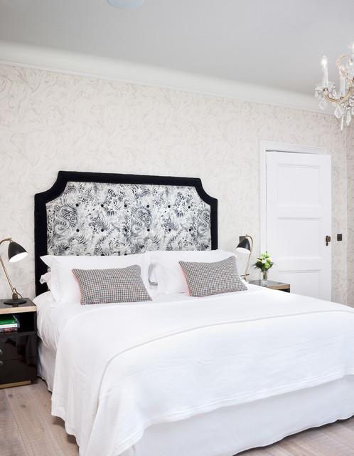 Greystones Transitional Bedroom Glasgow By Habitus