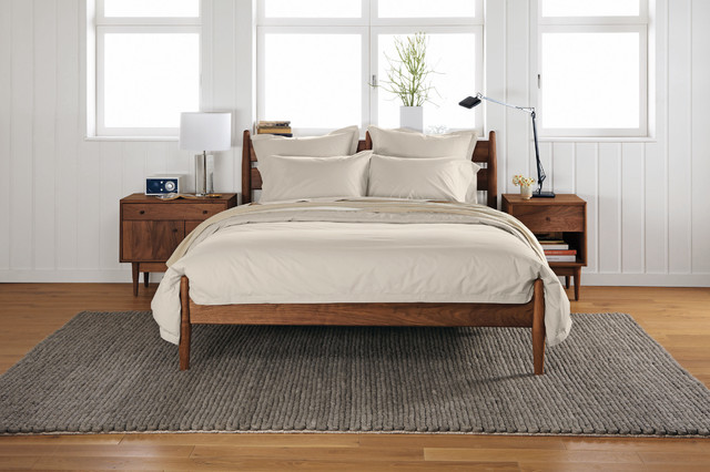 Grove bed - Modern - Bedroom - Minneapolis - by Room & Board
