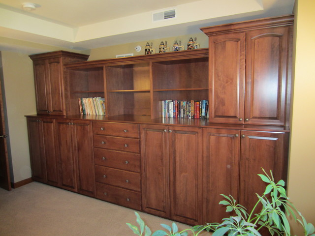 Guest Bed Room Built-in Cabinets, Madison WI - Traditional - Bedroom - other metro - by Tailored ...