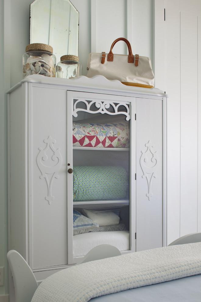 Inspiration for a coastal bedroom remodel in Atlanta