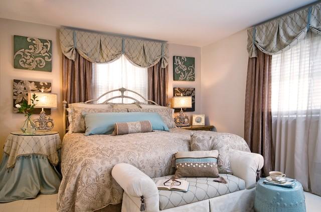 Guest bedroom after traditional bedroom new york - Den guest room design ideas ...