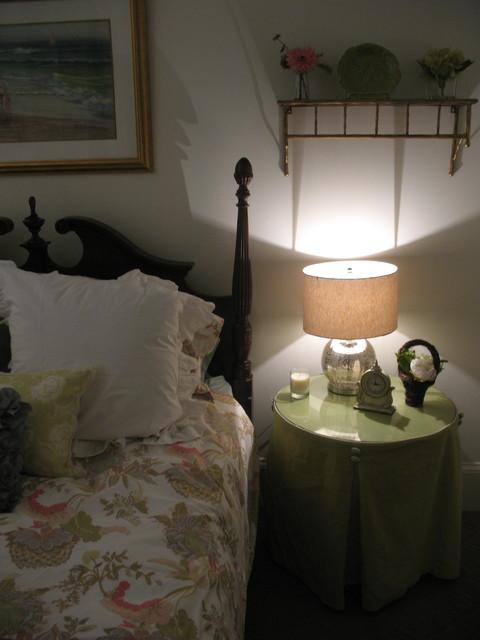 guest bedroom and bath eclectic-bedroom
