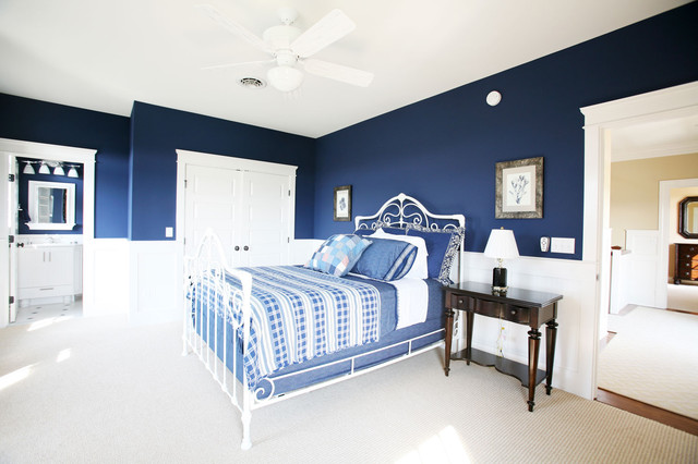 Guest bedroom for Blue guest bedroom ideas