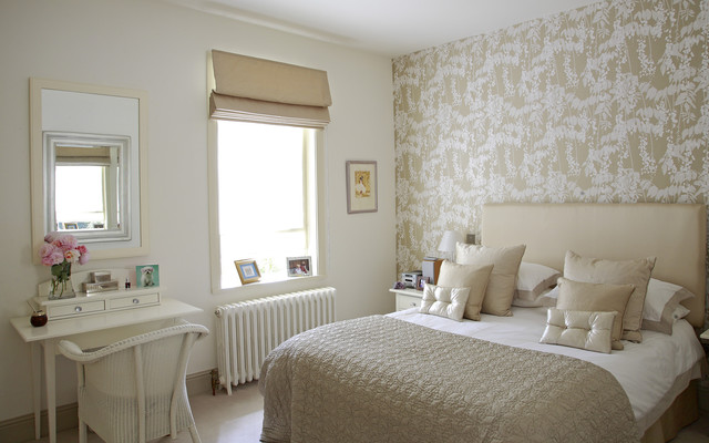 Guest Bedroom Shabby Chic Style Bedroom Dublin By