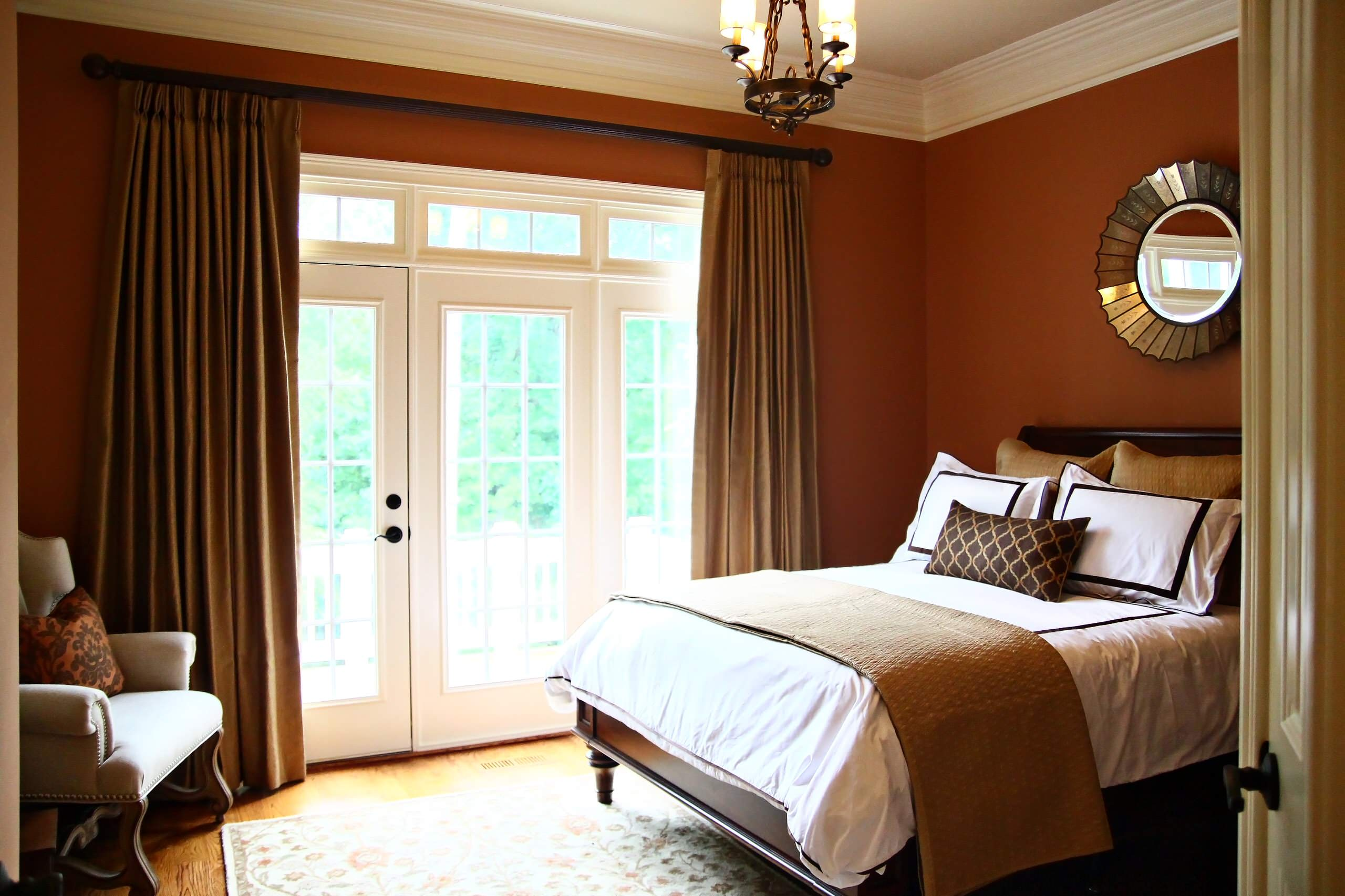 75 Beautiful Traditional Bedroom With Red Walls Pictures Ideas February 2021 Houzz