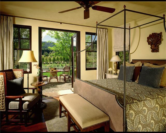 Guest Bedroom rustic-bedroom