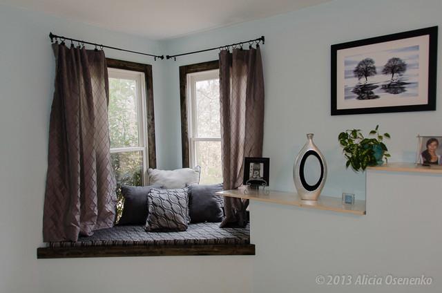 Guest Bedroom Window Seat  Cumming GA contemporary bedroom. Guest Bedroom Window Seat  Cumming GA   Contemporary   Bedroom