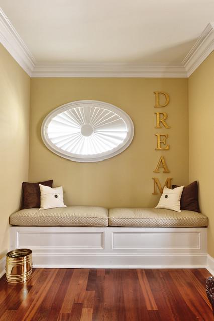 Guest Bedroom Window Seat contemporary-bedroom