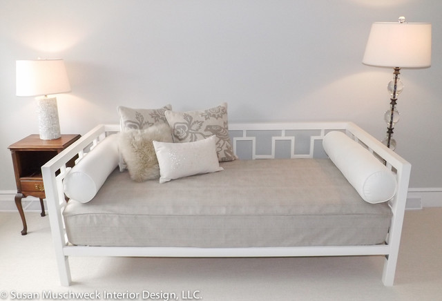 Guest Bedroom With Daybed Traditional Bedroom Other
