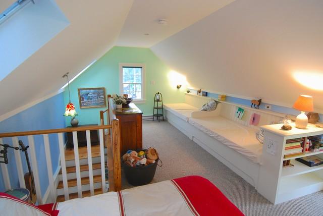 Guest Cottage farmhouse-bedroom