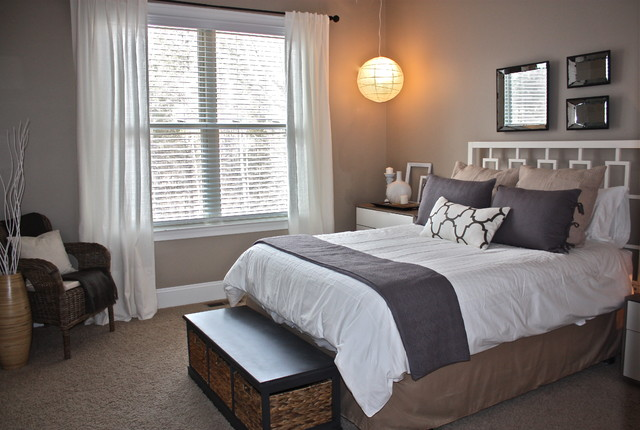 Guest room for Contemporary guest bedroom ideas