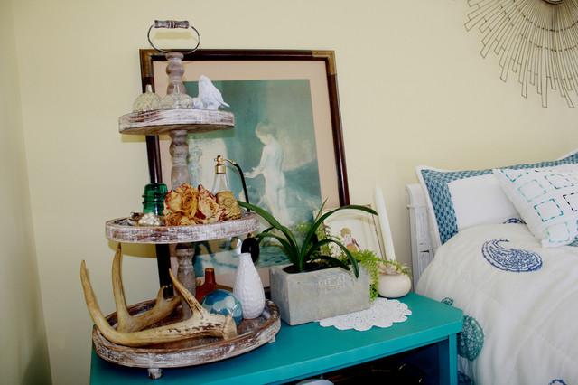 Guest room eclectic-bedroom