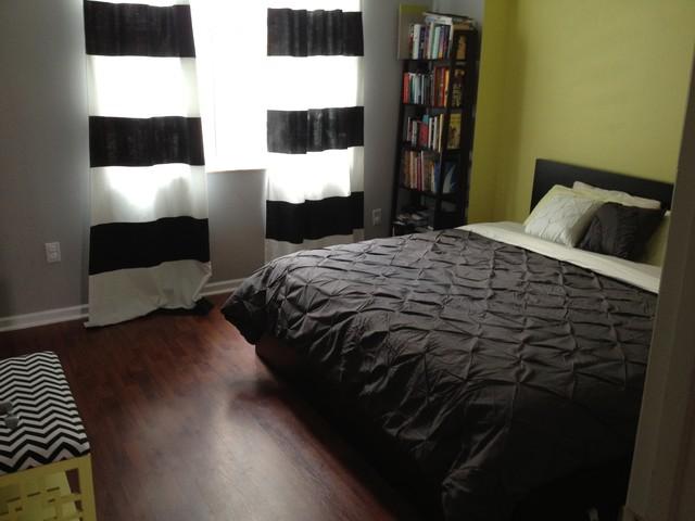guest room contemporary-bedroom