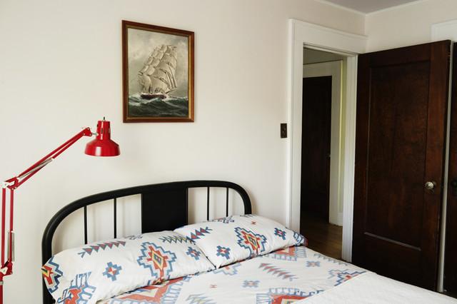 Bedroom - eclectic bedroom idea in Wichita