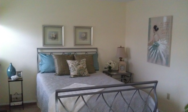 Guest Room Restyling contemporary-bedroom