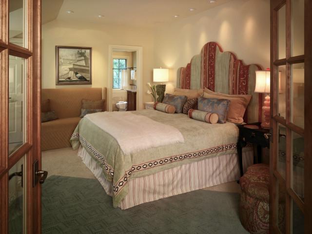 Guest Suite eclectic-bedroom