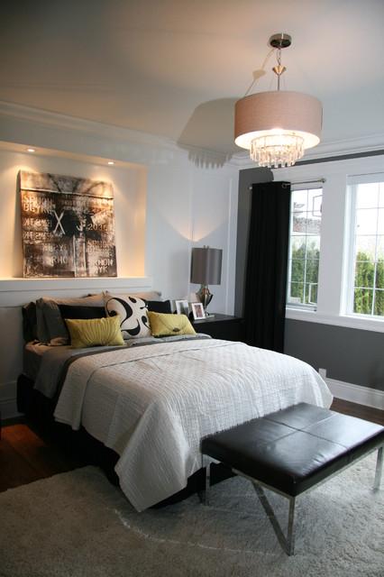 Guest Suite Renovation contemporary-bedroom