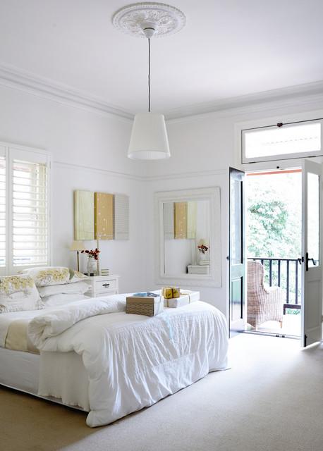 Guestroom Olinda house transitional-bedroom