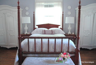 Gustavian Bedroom - Traditional - Bedroom - Nashville - by Kristie ...