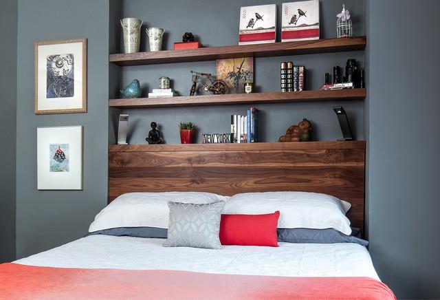 Gwynne Master Bedroom and Lounge modern-bedroom