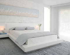 Habachy Designs contemporary bedroom