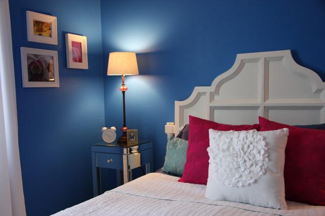 Habitat House eclectic-bedroom