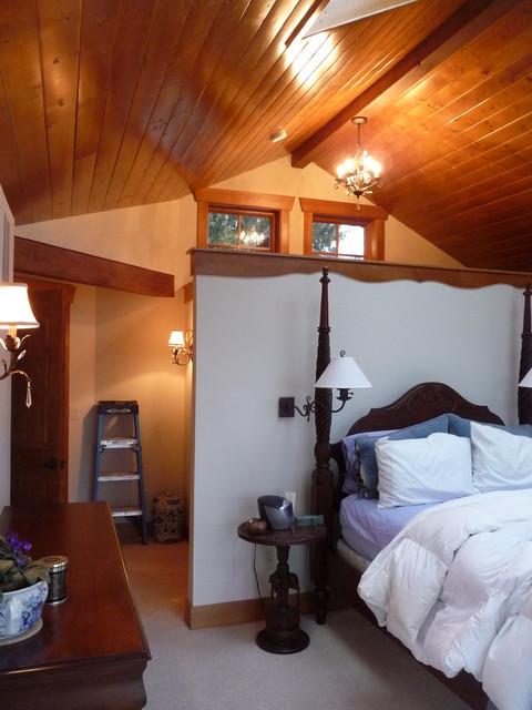 Hagerman Lodge eclectic-bedroom