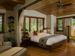 Hale Ho'omalu - Asiatisch - Schlafzimmer - Hawaii - Von Antony Homes Schlafzimmer Asiatisch