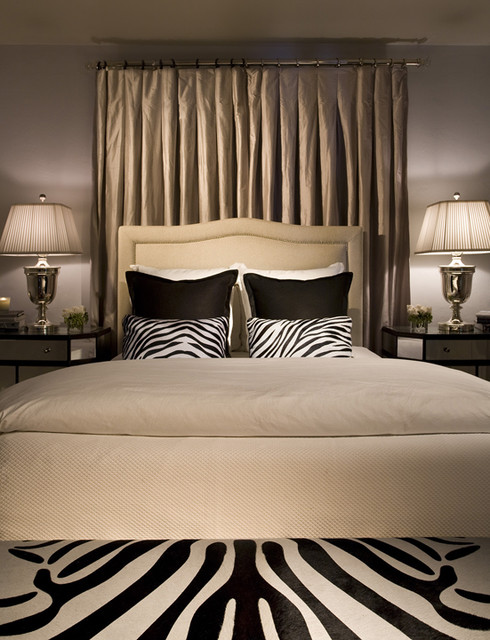 Hallock Design Group - Private Miami Residence eclectic-bedroom