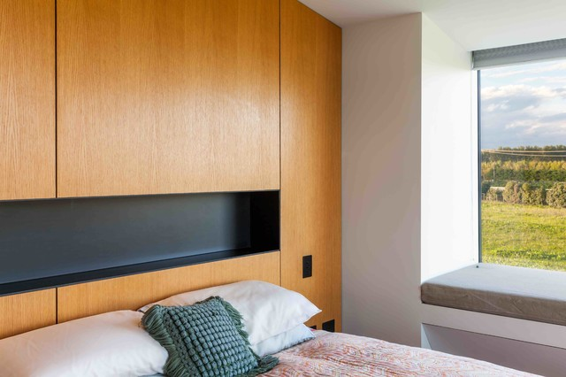 Halswell house contemporary bedroom christchurch for Bedroom furniture christchurch